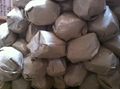 Natural Salt Lamps wrapped Packing