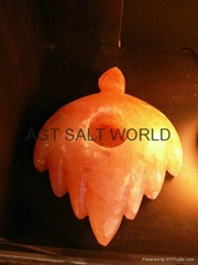 Fancy Rock Salt Candle holder 12