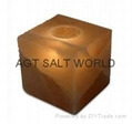Fancy Rock Salt Candle holder 14