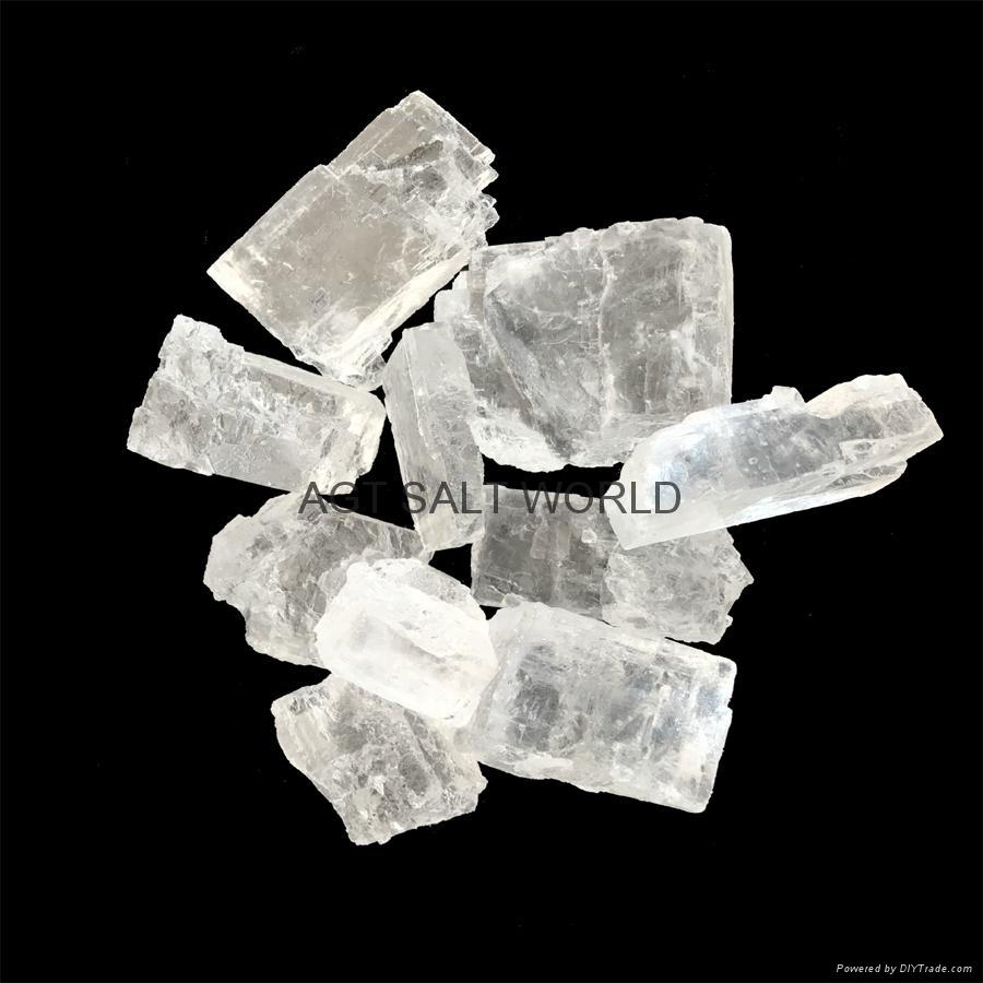 White Natural Crystal Rock Salt Chunks