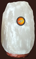 Natural Rock Salt Lamp White