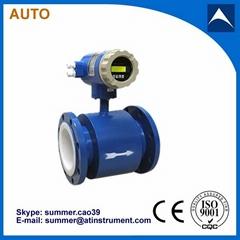 Hot Sales Electro magnetic flow meter water flow meter with low cost