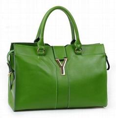 Leather Handbag, Fabric Handbag