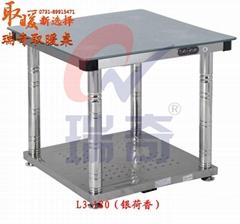 瑞奇多功能高效節能鋼化玻璃取暖餐桌