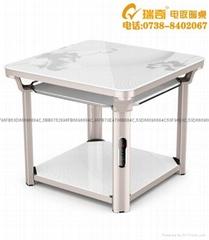 家用节能电暖器陶瓷发热取暖桌