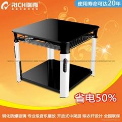 新型多功能节能电取暖桌