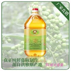 藤椒油5L四川特產大桶裝