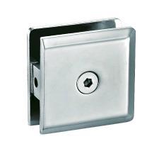 0 degree fix glass door hinge clamp