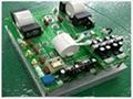 220V5kW半桥挂式电磁加热
