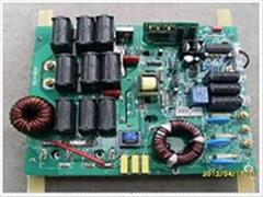 溫控380V5kW半橋挂式電磁加熱器