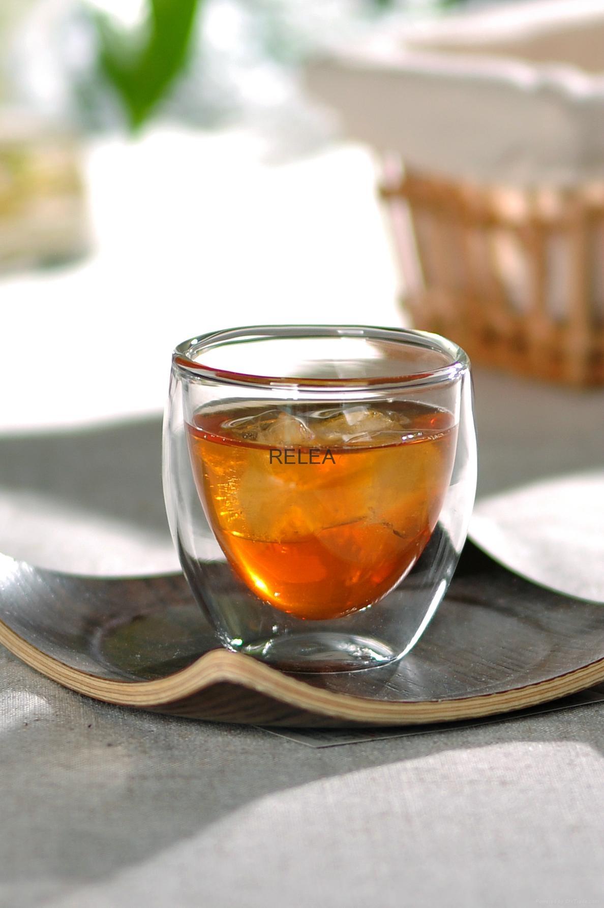 Borosilicate Double Wall Glass Cup  1