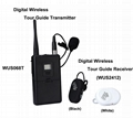 2.4G Wirelesss digital tour guide