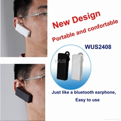New Design Digital Wireless Receiver Bluetooth earphone tour guide system