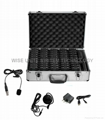 UHF Tour Guide System 2.4GHz transmitter and receiver