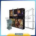 China advertising trade show backdrop fabric pop up display 3