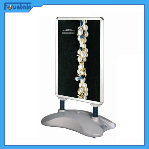 A1/A0 double side Protable outdoor sidewalk water base poster display stand 2