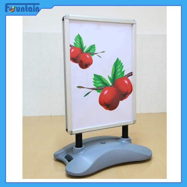 A1/A0 double side Protable outdoor sidewalk water base poster display stand 3