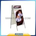 A frame display stand roll up banner poster board in advertising exhibition 2