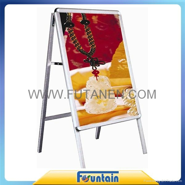 A frame display stand roll up banner poster board in advertising exhibition 4