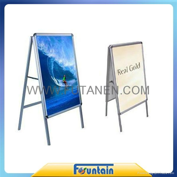 A frame display stand roll up banner poster board in advertising exhibition 3