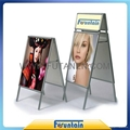 A frame display stand roll up banner