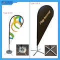 Flag Banner Poster Pole Stand Display/teardrop advertising banner stand 5