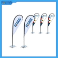 Flag Banner Poster Pole Stand Display