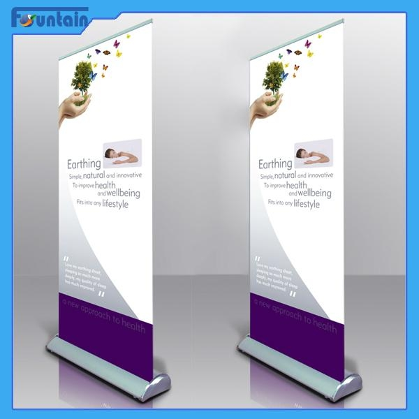 Standard Single Side Retractable Rolling Up Exhibition  4