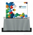 20ft Curve Tradeshow stretch fabric display Pop-Up Trade Show Booth Display Bann 3