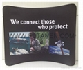 Wave Line Tension Fabric Display For