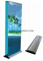 Single Side Luxury Promotional Aluminum  Teardrop Roll Up Banner Stand with Bann 2