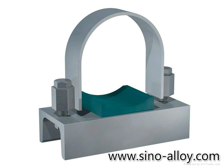 Steel U-bolt pipe clamps (China Manufacturer) - Pipe Fittings - Pipe