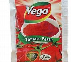 Flexible packaging flat bag sauce