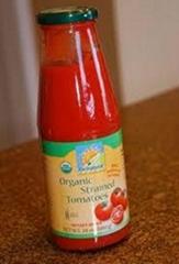 tomato paste glass bottle