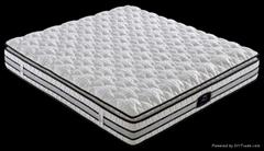 Foshan comfort furniture-five zoned pocket spring mattress