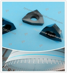 DFT DFS PCD inserts for drilling wind turbine blade