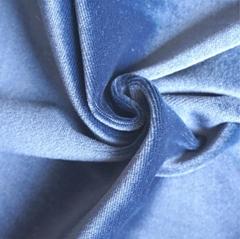100% Polyester Velvet Fa