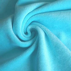 80% Cotton 20% Polyester Plain Velvet for Home/Garment