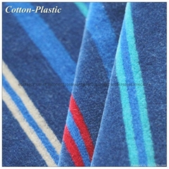 Even Stripe Pattern Velvet Fabric for Fashion Garment