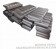 ASTM A532 高鉻鑄鐵 雙金屬復合耐磨塊 巧克力塊