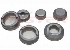 ASTM A532 高铬铸铁 复合耐磨块 圆环式耐磨块