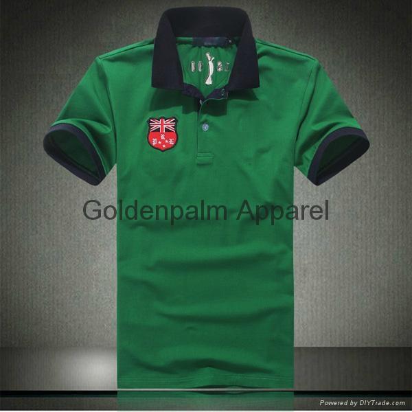 Oem high quality custom logo embroidery unisex polo shirt for High quality embroidered polo shirts
