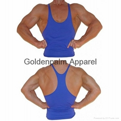 2014Wholesale fancy design custom-made blank mens stringer vest