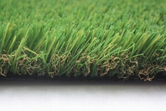 UV resistant fire resistant natural looking artificial grass for landscape