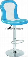 Modern synthetic leather PU PVC fabirc cloth bar stool bar chair barstol
