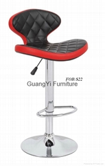 New style PU leather synthetic leather bar stool bar chair