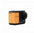 WIFI compact size 50 meters waterproof video camera same solution as Hero 3 2