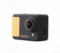 WIFI compact size 50 meters waterproof video camera same solution as Hero 3 3