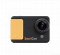 WIFI compact size 50 meters waterproof video camera same solution as Hero 3 4