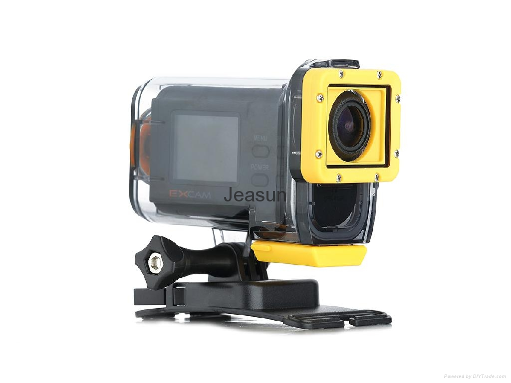 50 meters waterproof sport action video camera with remote controller 2